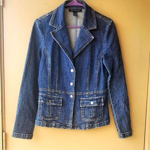 Inc international concepts Jean Denim Blazer